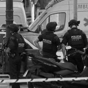 policía mossos terroristas ambulancia