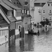 calle inundada inundación por daños lluvia seguros aseguradora reclamación