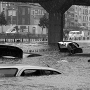 coches inundados Consorcio CCS lluvia vehículo