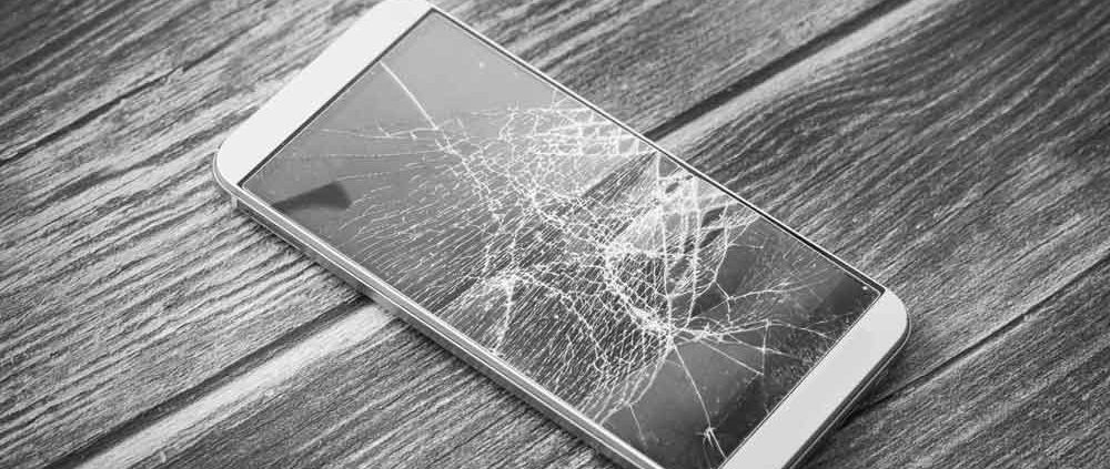 mòbil trencat assegurança asseguradora vidre