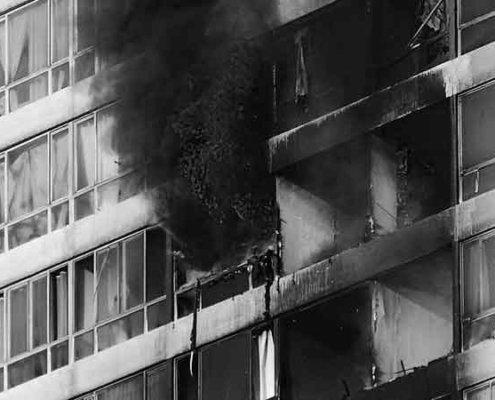 daños estéticos perjudicado responsabilidad civil incendio comunidad
