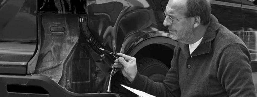 pèrit automòbils asseguradora vehicle tasador taller reparació
